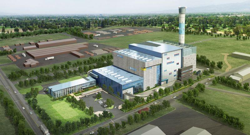 Lò đốt chất thải sinh hoạt tại Bắc Ninh