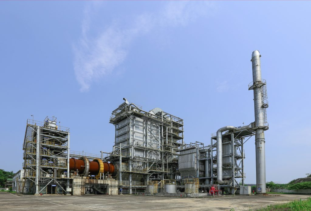 Công nghệ xử lý chất thải công nghiệp phát điện NEDO